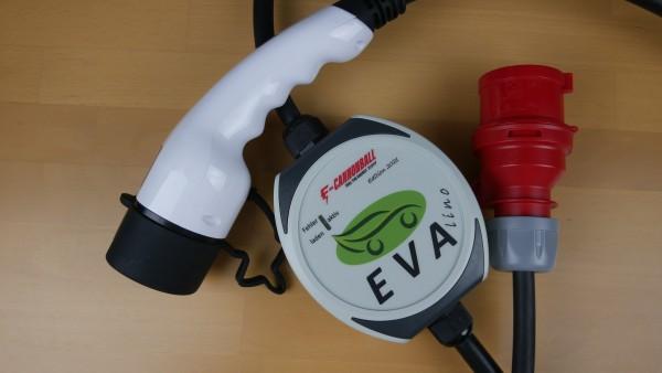 EVAlino (EVA S4) Limitierte Edition E-Cannonball 2021 Mobiler Ladeadapter Wallbox 2,4kW / 11kW