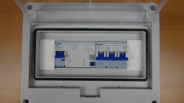 Installtionssatz Unterverteilung vormontiert CEE-Dose 16A für Wallboxbetrieb